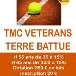 Tournoi TMC Vétérans - les 29 et 30 juin 2019