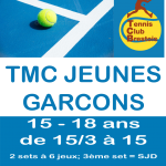 TMC JEUNES GARCONS 15-18 ans