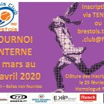 Tournoi Interne 2020 - Les inscriptions sont ouvertes